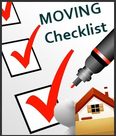Furniture Removal Moving Checklist